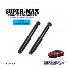 Kia Cerato K3 Rear Left And Right Supermax Gas Shock Absorbers
